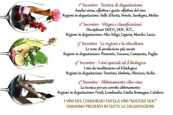 Corso di degustazione e avvicinamento al vino